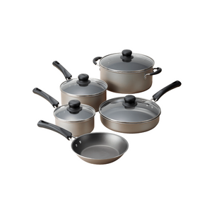 9 Piece Non-Stick Cookware Set (2 Colors)
