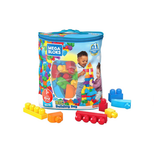Mega Bloks First Builders Big Building Blocks, (80 Pieces)