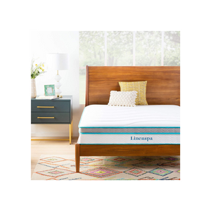 Linenspa 10 Inch Memory Foam and Innerspring Hybrid Mattress - Twin