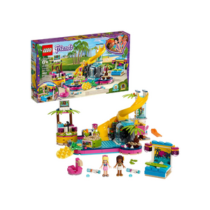468-Piece LEGO Friends Andrea's Pool Party Building Set