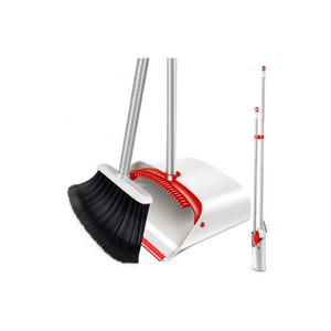 Upright Broom and Dustpan Set