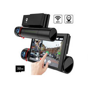 Front And Rear Dash Camera
