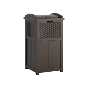 Suncast 33 Gallon Hideaway Trash Can