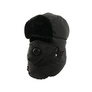Winter Trooper Hat With Face Mask (5 Colors)