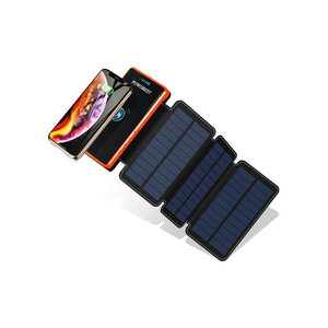 20000mAh Wireless Solar Power Charger