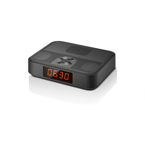 Alarm Clock With Bluetooth Speaker And Wireless USB Charger