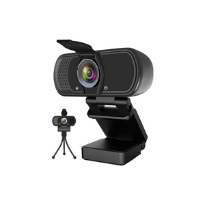 Webcam with Microphone, Hrayzan 1080P HD Webcam with Privacy Cover and Tripod