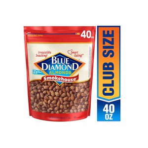 40oz Bag Of Blue Diamond Smokehouse Almonds