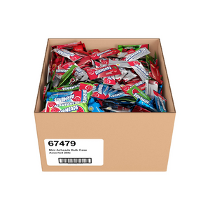 25 Pound Box Of Airheads Candy Mini Bars