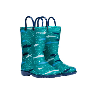 Children's Rain Boots With Handles (4 Colors)