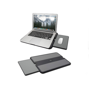 Portable Smart Laptop Lap Pad With Mouse Tray