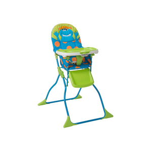 Cosco Simple Fold Deluxe High Chair with 3-Position Tray (2 colors)