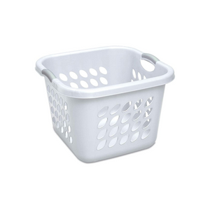 6 Sterilite Ultra Square Laundry Baskets