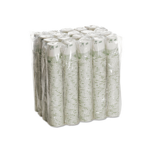 1,000 Dixie 8oz PLA-Lined Paper Hot Cups