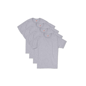 4 Pack Of Hanes Men's ComfortSoft Short Sleeve T-Shirts