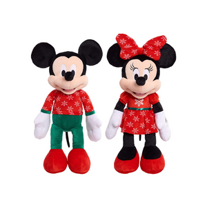 Large Mickey Or Minnie Mouse Plush