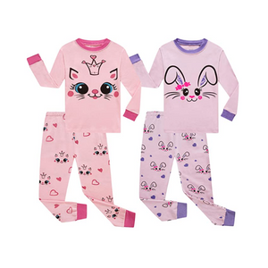 4-Piece Children Pajama Sets (10 Styles)