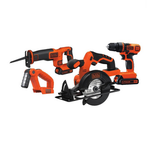 4 Piece Black+Decker Combo Kit