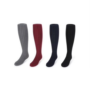 Kids Ribbed Cotton Tights (4 Colors)