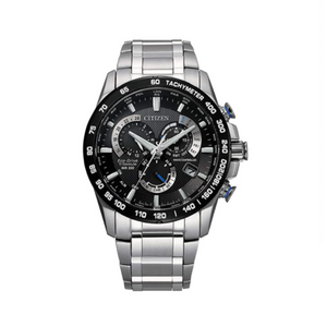 Citizen Men's Eco-Drive Chronograph Watch in Super Titanium