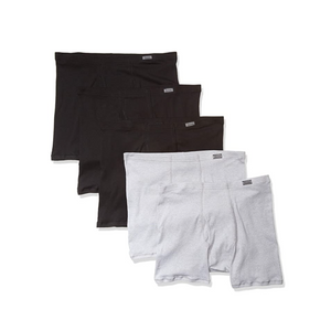 5 Hanes Men's Tagless ComfortSoft Boxer Briefs