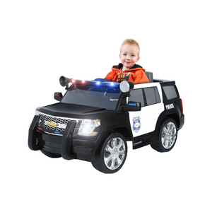 Chevy Tahoe Police SUV 6-Volt Battery-Powered Ride-On