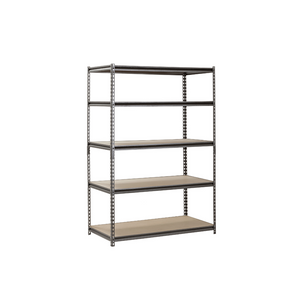 Muscle Rack 5-Shelf 24″ D x 48″ W x 72″ H Steel Shelving Unit