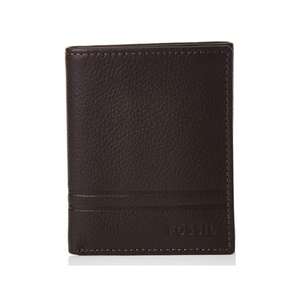 Fossil Men's Wilder Leather Trifold Wallet