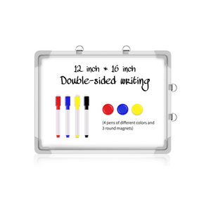 Magnetic Dry Erase Board With 4 Pens