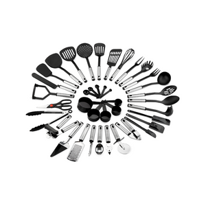 39-Piece Stainless Steel Cooking Tool Utensil Set