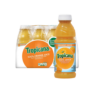 12 Bottles Of Tropicana Orange Juice