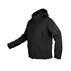 Men's Water-Resistant Fleece Lined Windbreaker With Hood (5 Colors)