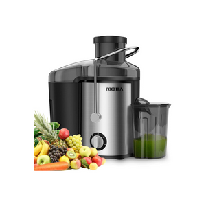 Juicer Machines with Adjustable Spout