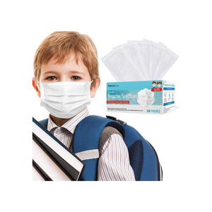 50 Individually Wrapped Kids Face Masks