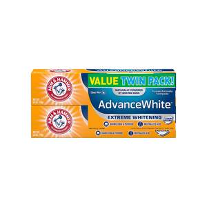 6 Tubes Of Arm & Hammer Advance White Toothpaste