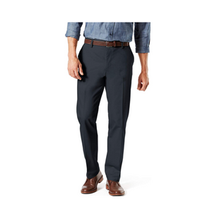 Dockers Men's Straight Fit Signature Lux Pants