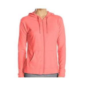 Hanes Women's Jersey Full Zip Hoodies (5 Colors)
