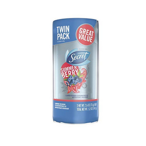 2 Secret Summer Berry Deodorant Sticks