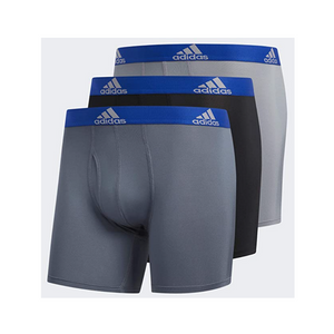 3 adidas Men's Performance Boxer Briefs