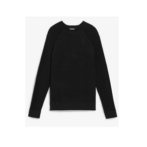 Solid Ribbed Crew Neck Sweater (4 Colors)