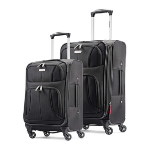 2 Piece Samsonite Aspire Xlite Softside Expandable Luggage