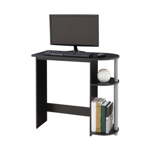 Mainstays Computer Desk with Built-in Shelves