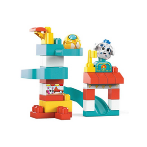 35-Piece Mega Bloks Peek A Blocks Amusement Park Building Set