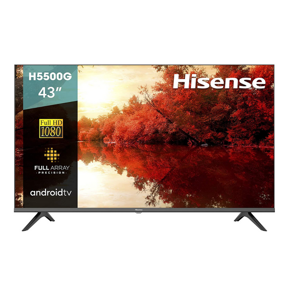 Hisense 43-Inch Full HD Smart Android TV with Voice Remote (2020 Model)