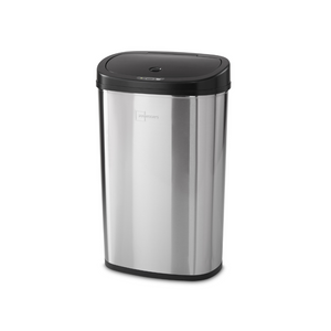 13.2-Gallon Mainstays Motion Sensor Stainless Steel Trash Can (various colors)