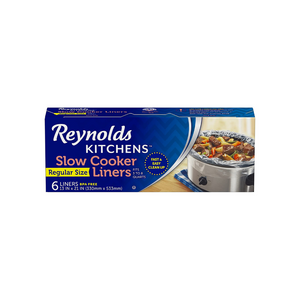6 Reynolds Kitchens Slow Cooker Liners