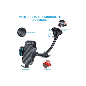 Gooseneck Long Arm Car Phone Mount