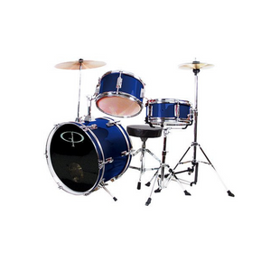 Learn to Play GP Percussion 3 Piece Junior Drum Set