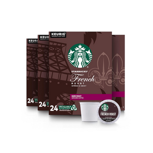 96 Starbucks French Roast Coffee K-Cups