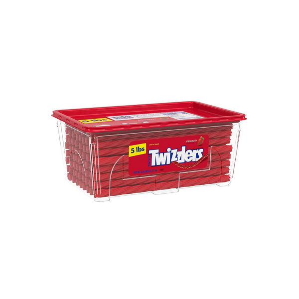 5 Lbs. Of Twizzlers Strawberry Flavored Chewy Candy